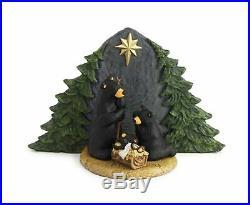 Big Sky Carvers Forest Nativity Bear Family Figurine