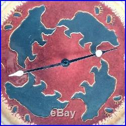 Big Sky Carvers Fusion Bear Clock Table/Wall/Mantle Rustic Western Decor 12.5