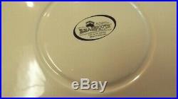 Big Sky Carvers Jeff Fleming Bearfoots Black Bear Chip Dip Platter Set