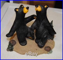Big Sky Carvers Jeff Fleming Bearfoots Dancing Bears Bear Two Step Excellent