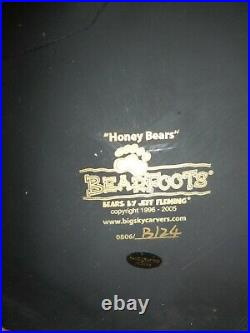 Big Sky Carvers (Jeff Fleming) Bearfoots Honey Bears, Numbered