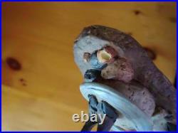 Big Sky Carvers Jeff Fleming Bearfoots Who Needs Waders Moose Figurine DAMAGED