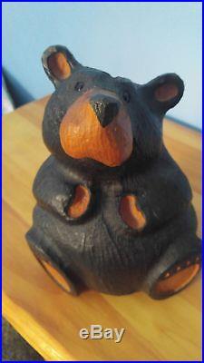 Big Sky Carvers Jeff Fleming Bearfoots Wood Carved Rosie Rustic Bear Cabin Decor