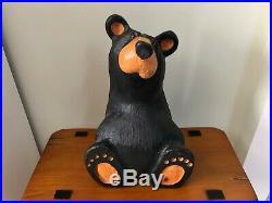 Big Sky Carvers Jeff Fleming Black Bear Wood Carving Baby Bear Sculpture