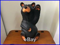 Big Sky Carvers Jeff Fleming Black Bear Wood Carving Mikey Bear Sculpture