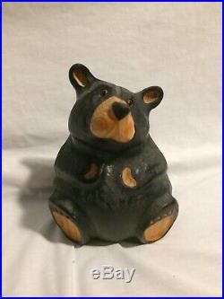 Big Sky Carvers Jeff Fleming Black Bear Wood Carving Sculpture