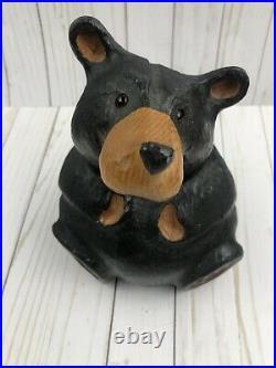 Big Sky Carvers Jeff Fleming Rosie Wood Carved Bear