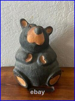 Big Sky Carvers Jeff Fleming Rosie solid wood bear 10x7x5