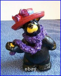 Big Sky Carvers Jim Fleming Bearfoots Red Hat Society Bear