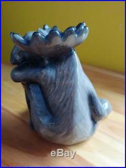 Big Sky Carvers Phyllis Driscoll Bearfoots Mooses Rare Moose Coin Bank
