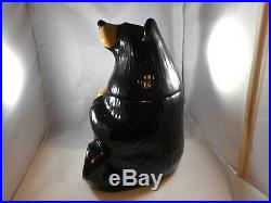 Big Sky Gifts Bearfoots Black Bear Cookie Jar 12 Bears By Jeff Glen