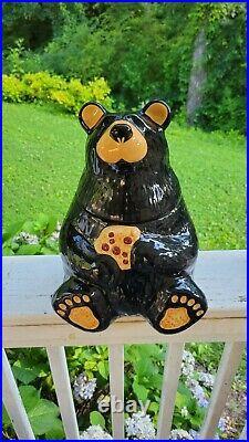 Big sky carvers bearfoot bears cookie jar