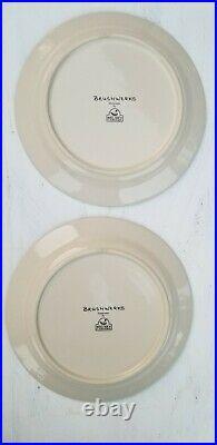 Brushwerks Stoneware Big Sky Carvers Set Of 4 Salad Plates Bear