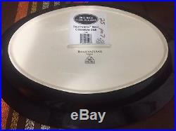 Brushwerks Stoneware by Big Sky Carvers Bear Oval Serving platter/tray 16