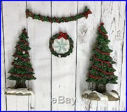 Christmas Big Sky Carver Bearfoots Beartivity Nativity Archway Set 50440 Trees