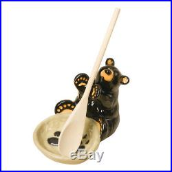 DEMDACO 30150060 Big Sky Carvers Bear Spoon Holder, Multicolored