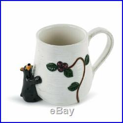 DEMDACO Bearfoots Big Sky Carvers Berry Bear Coffee 24 oz Mug Cup