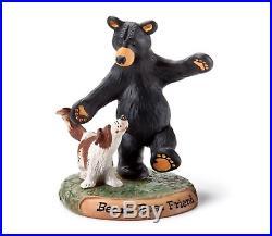 DEMDACO Big Sky Carvers Bear's Best Friend Figurine