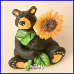 DEMDACO Big Sky Carvers Sunflower Bear Mini Figurine