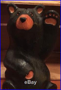 Hand carved bear, Big Sky Bears, Bear carving, Wildlife art, Carved bear, Bear art
