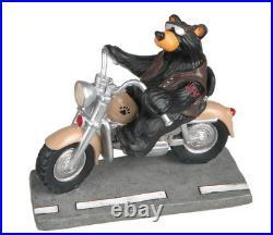 Harley Bear Biker Mini Figurine Bearfoots Big Sky Carvers #30150112