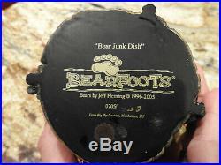 Jeff Fleming Bearfoots Big Sky Carvers Bear Junk Dish Holder