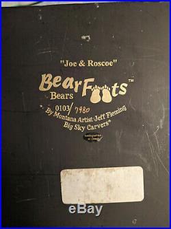 Jeff Fleming Big Sky Carving Joe & Roscoe
