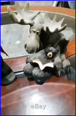 Lot Of 8 Bearfoots Big Sky Carvers By Jeff Fleming