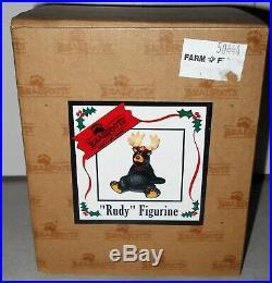 NIB Big Sky Carver Bear Foot Bears RUDY Reindeer Costume Bear