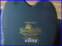 RARE Big Sky Carvers Bearfoots Grand Size Bear #18775 Angel Bear Nativity
