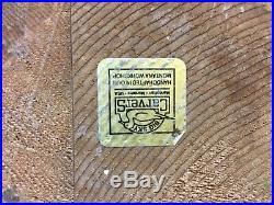 Rare Retired Big Sky Carvers Vintage Wood Emily Raccoon Cabin Lodge Bearfoots