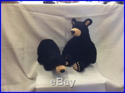 Rare Walking Bearfoot Bears 1996 Big Sky Carvers 14 Stuffed Posable Plush