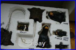 Retired Big Sky Carvers Beartivity #50410 7 Pc Charming Bear Nativity in Box