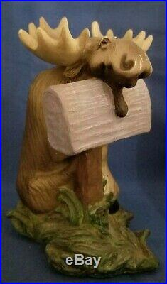 SPECIAL DELIVERY Big Sky Carvers Bearfoots Mooses Figurine 2000