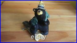 Singing Tree Big Sky Carvers Jeff Fleming Bearfoots Hiker Bird Watcher Bear