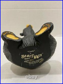 The Bearfoots Big Sky Carvers CANDY Candy Holder Montana Artist Jeff Fleming A