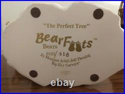The Perfect Tree Big Sky Carvers Bearfoots Bears Christmas Jeff Fleming