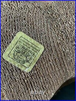 VTG 1996 Big Sky Carvers Emily Raccoon Pine Wood Sculpture Jeff Fleming RARE EUC
