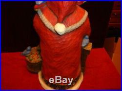 Vintage Big Sky Carvers Bluebird Noel Santa by Stuart Bond Signed Number A0038