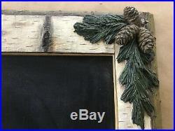 Vintage Collectible Big Sky Carvers Bear Foots Mountain Moose Chalkboard