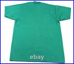 Vtg Montana Big Sky Country Bear Wild Life Single Stitch T Shirt Sz L 90s New US